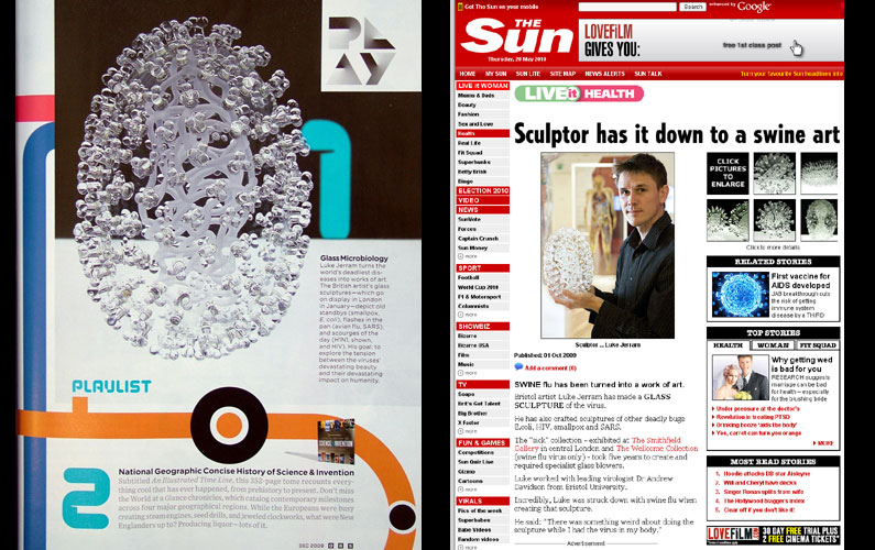 Wired Magazine and the Sun Newspaper