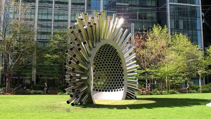 Aeolus - Acoustic Wind Pavilion | Aeolus by Luke Jerram